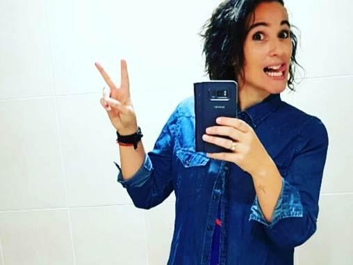 Cristina Murcia instructora de Zumba en Vive Oliva