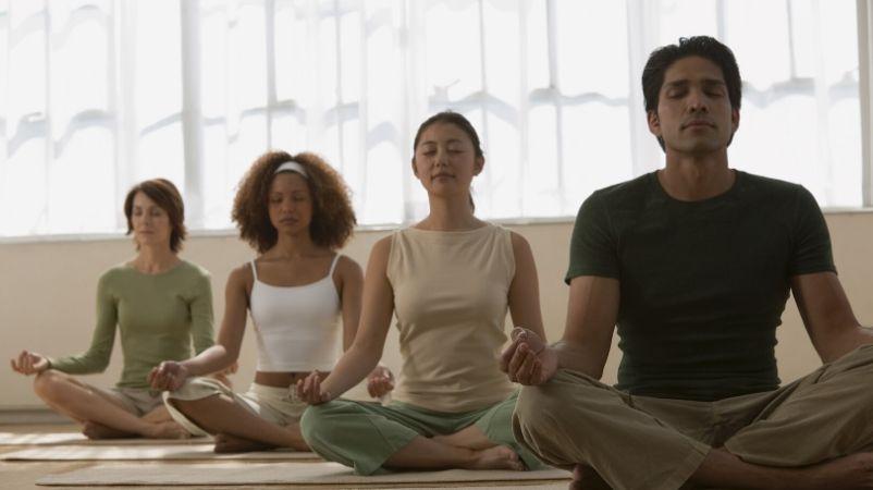 actividades en grupo meditación