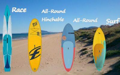 ¿Que tabla de Paddle Surf comprar? Te damos las 5 claves para ayudarte.