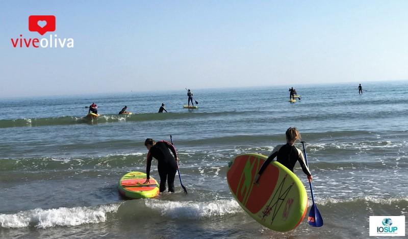 ¿Quieres aprender a hacer Paddle Surf en Oliva?