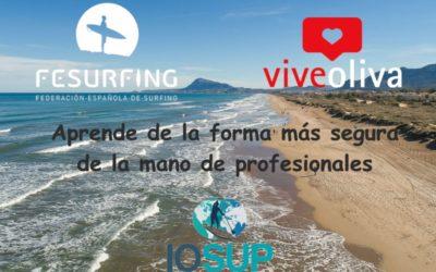 !ViveOliva escuela oficial de la Federación Española de Surf en Oliva!