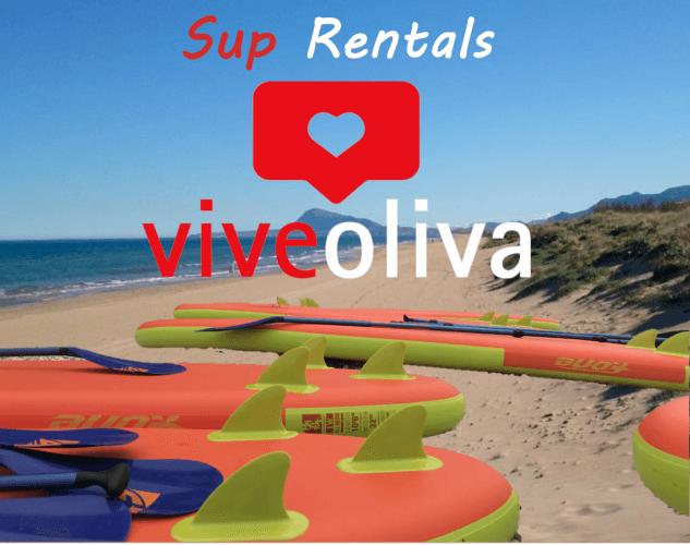 Alquileres de Paddle Surf en Oliva