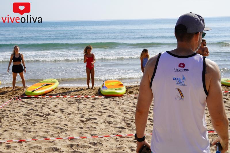 Surfing day Oliva
