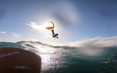 Como y donde hacer Wing Surf en Oliva